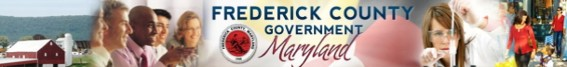 frederick county government  - logo