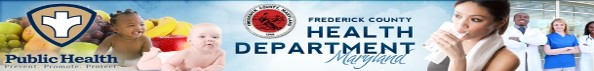 frederick county health department - logo