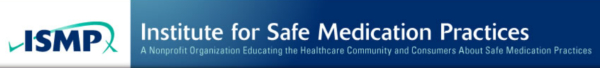 Institute for Safe Medication Practices - Logo